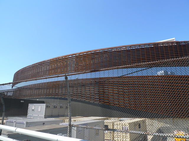 <p>The Barclays Center on the day of its ribbon cutting, Sept. 21, 2012.</p>