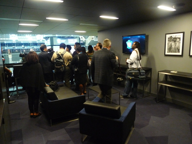 <p>A private suite inside the new Barclays Center.</p>