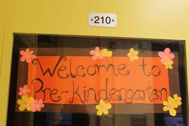 Students were welcomed to their new building.