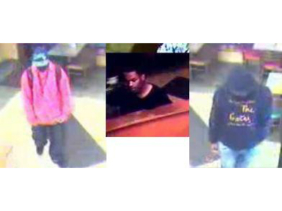 Three men are wanted for allegedly attempting to rob a Subway restaurant on Boston Road in Baychester on Sept. 19, 2012.