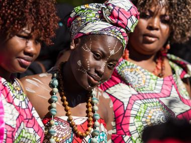 The 6th Annual African Day Parade took place in Harlem on Sept. 23, 2012.