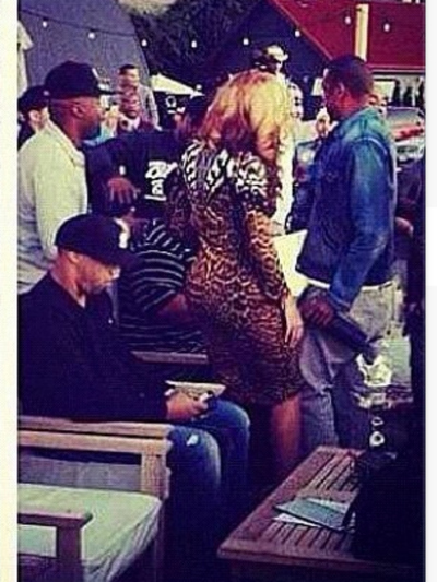 Beyonce and jay-Z's visit to La Marina on Dyckman Street caused a stir on Sept. 23, 2012.