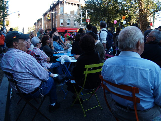 Friday's Viva La Comida! festival was a chance for neighbors to celebrate Jackson Heights and Elmhurst.