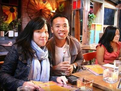Jenn Chen and Daniel Chan had been dating for 18 months before they got engaged Sunday at Mudspot Cafe.