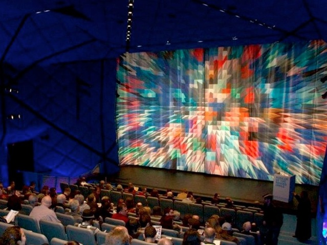 Opening night at Museum of the Moving Image, 2012.