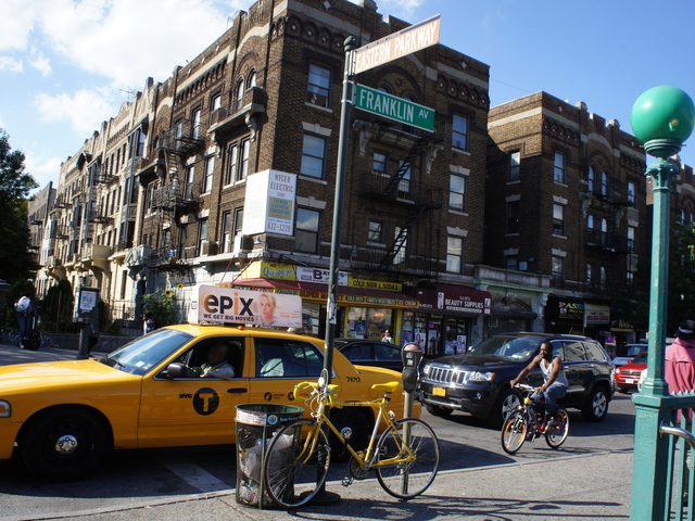 <p>Bike parking may soon be easier to find in Crown Heights, thanks to a joint proposal between Franklin Avenue cafe Little Zelda and the DOT to swap a street-side parking spot for a&#39;bike-corral&#39; meant to ease two-wheeled parking congestion on the bustling block.</p>