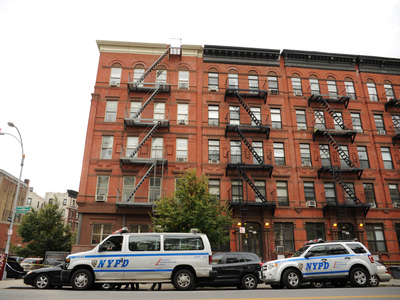 <p>HARLEM - An emotionally disturbed man who barricaded himself in his fifth floor apartment at 113 Morningside Avenue in Manhattan was shot and killed by cops who responded to the call for help from a family member on the evening of September 25th, 2012.. An investigation is ongoing.</p>