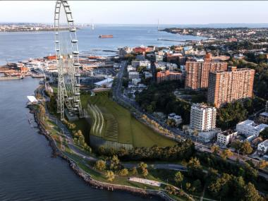 The city is seeking proposals for Staten Island's first small business incubator to help encourage entrepreneurship on the borough. It comes alongside development on the island, including the world's tallest Ferris wheel.