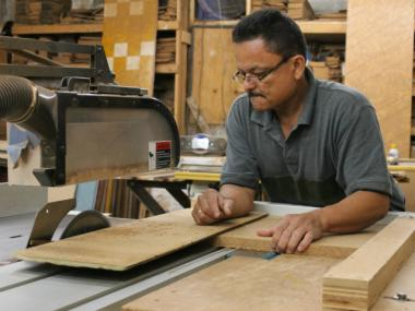 The city's successful small manufacturers create customized, premium products efficiently.