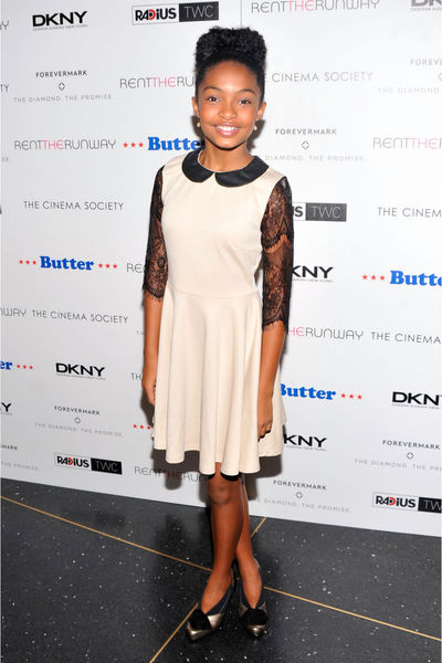 Yara Shahidi at the premiere of 'Butter' at the AMC Lincoln Square Theater, Thursday, September 27, 2012.