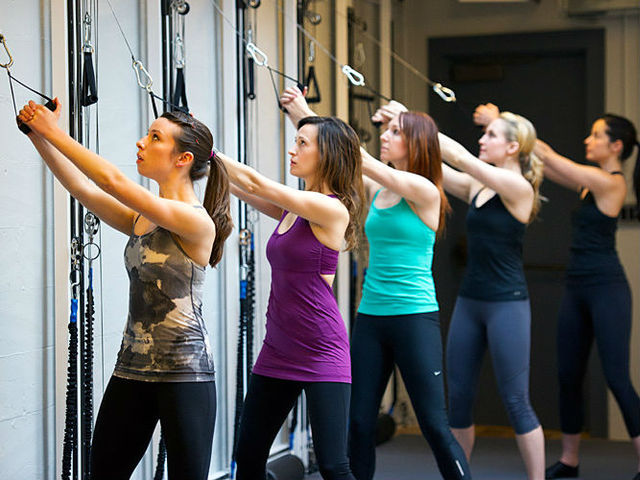<p>Exercisers at the Refine Method, which is opening a new location on the Upper West Side.</p>