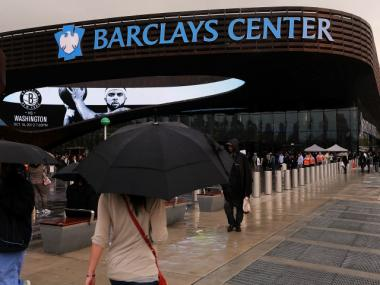 The owner of the recently opened Barclays Center says it's way overvalued.