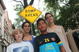 Hamilton Terrace Residents Push for More Intimidating Speed Bumps