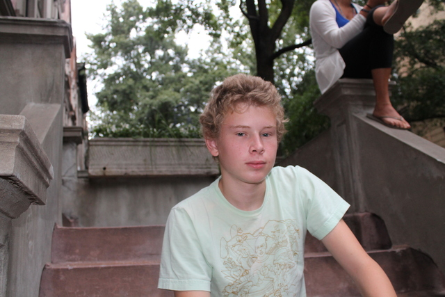 <p>&quot;The cars go at a good speed. There have been a lot of close calls,&quot; said Malcolm Griand, 16, a junior who has lived on Hamilton Terrace for five years. &quot;Younger kids have come close to getting hit.&quot;</p>