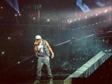 Jay-Z officially opened the Barclays Center with its first concert.