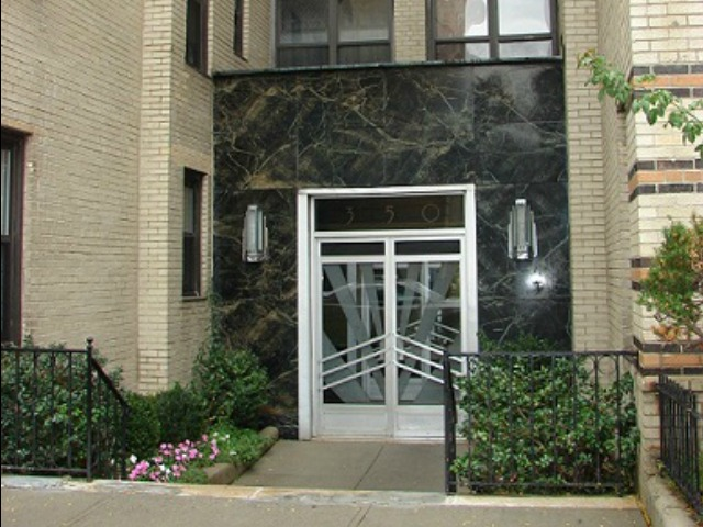 <p>A two-bedroom apartment at 350 Cabrini Boulevard, right near P.S. 187, is asking $449,000.</p>