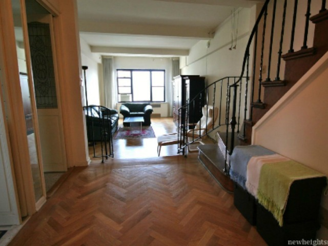 <p>This two-bedroom at 75 Park Terrace East in Inwood is on the market for $535,000.</p>