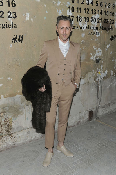 <p>Alan Cumming at the lunch of Maison Martin Margiela for H&amp;M at 5 Beekman in the Financial District, Tuesday, October 23, 2012.</p>