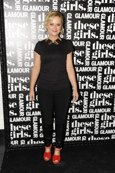 <p>Amy Poehler at <em>Glamour&#39;</em>s &quot;These Girls&quot; party at Joe&#39;s Pub on Monday, Oct. 8, 2012.</p>