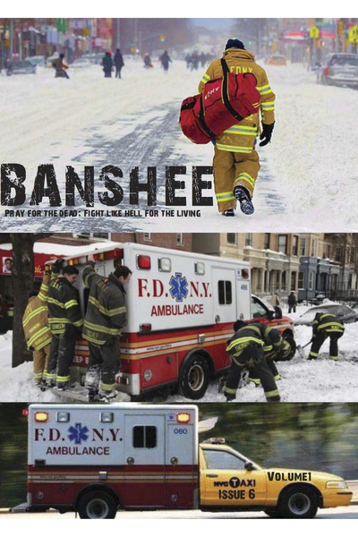 <p>The Banshee Association publishes a free newspaper twice a year, which it distributes to EMS garages around New York City. The group&#39;s members, led by former FDNY EMT Walter Adler, are working to create the first citywide advocacy organization for EMTs and paramedics. This is the cover for the newspaper&#39;s sixth issue.</p>