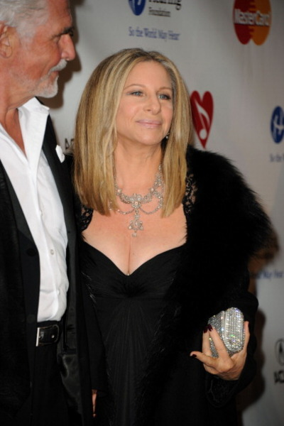 <p>LOS ANGELES, CA - FEBRUARY 11: Actor James Brolin and Singer Barbra Streisand arrives at the 2011 MusiCares Person of the Year Tribute to Barbra Streisand held at the Los Angeles Convention Center on February 11, 2011 in Los Angeles, California.</p>