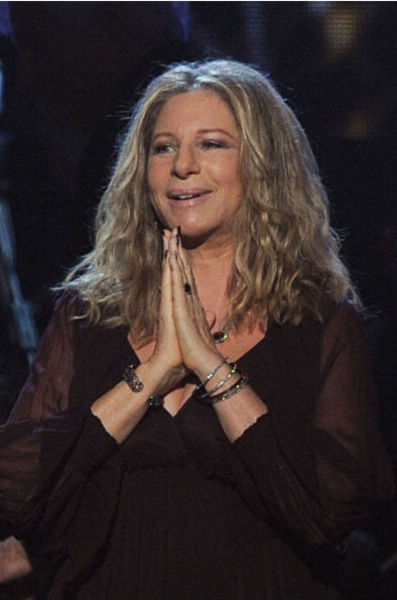<p>LOS ANGELES, CA - FEBRUARY 13: Singer/actress Barbra Streisand speaks onstage during The 53rd Annual GRAMMY Awards held at Staples Center on February 13, 2011 in Los Angeles, California.</p>
