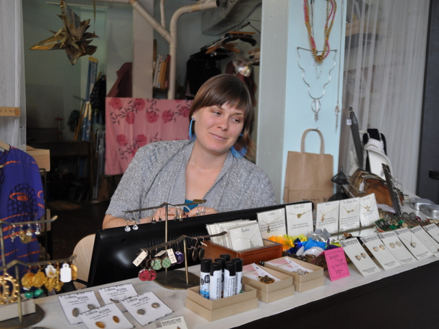 <p>Karin Peran now sells supplies at Better Than Jam boutique in response to artists&#39; requests.</p>