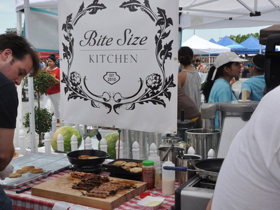 <p>Smorgasburg outdoor food festival is hosting its competition by the WIlliamsburg waterfront this weekend.&nbsp;</p>