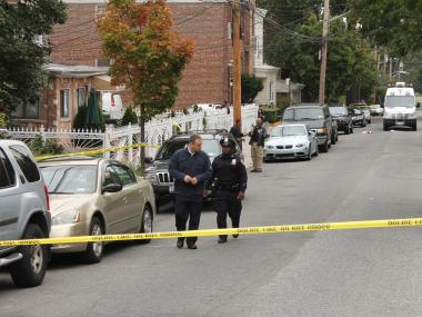 A 20-year-old man was shot and killed at 3320 Barker Avenue in the Bronx on Oct. 2, 2012.