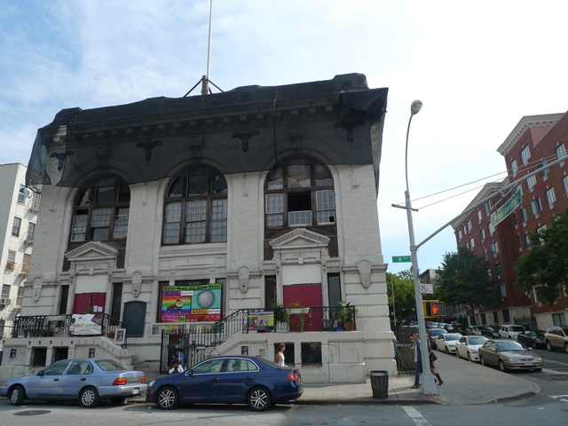 <p>The Brooklyn Lyceum was once an abandoned bathhouse. Today it&#39;s home to zumba classes and theater productions. The building could be sold at an upcoming foreclosure auction.</p>