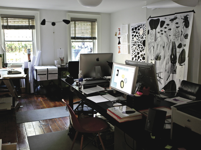 <p>Carin Goldberg&#39;s previous studio in Brooklyn.</p>