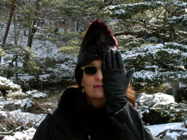 <p>A picture of Carin Goldberg, award-winning graphic designer.</p>
