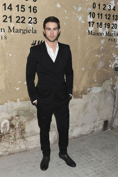 <p>Chace Crawford at the lunch of Maison Martin Margiela for H&amp;M at 5 Beekman in the Financial District, Tuesday, October 23, 2012.</p>