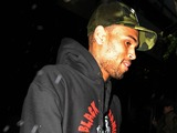 Chris Brown Spotted Leaving Rihanna's Park Avenue Hotel