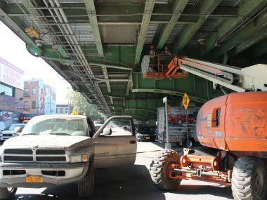 Construction workers are gearing up for the latest in repair work on the Gowanus Expressway in Brooklyn that has stretched as far back as 1985.