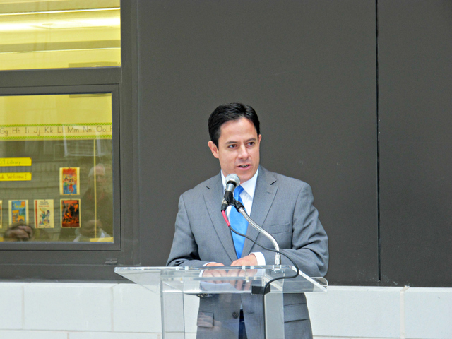 <p>City Councilman Dan Garodnick said the city needs to be creative in finding ways to build the facilities it needs and lauded the announcement that the DOE would pursue more public-private partnerships in the future.</p>