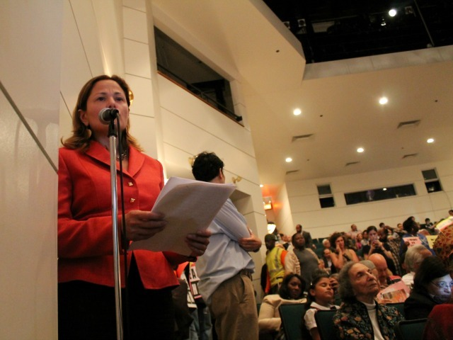 <p>City Councilwoman Melissa Mark-Viverito earned wide praise from many of her constituents, who don&#39;t want to see her district change.</p>