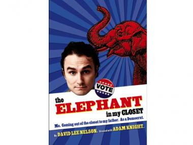 "David Lee Nelson's new play ""the Elephant in my Closet"" starts this Sunday at Kraine Theater."
