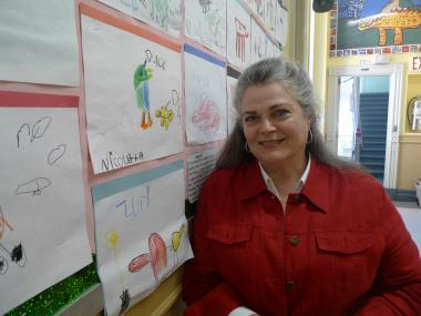 Principal Eve Litwack of P.S. 107 in Park Slope.