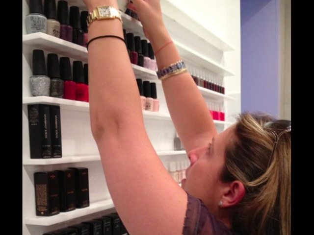 <p>Michelle Breskin stocks designer nail polish at Fix Beauty Bar on the Upper East Side.</p>
