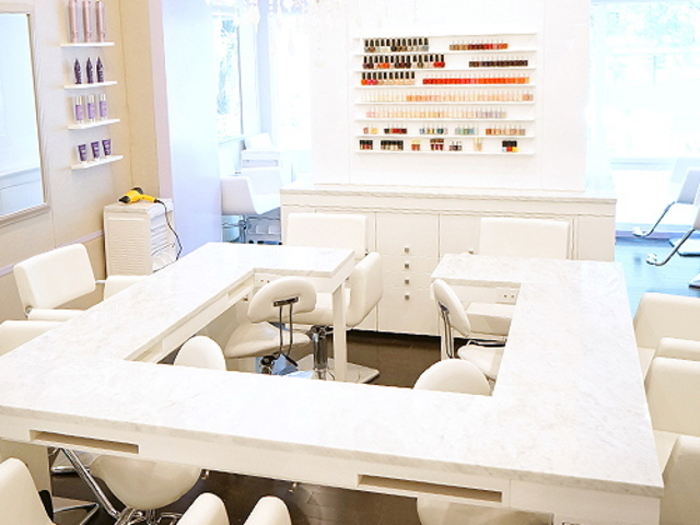 <p>The patent-pending bar at Fix Beauty Bar on Lexington Avenue, between East 64th and 65th streets.</p>