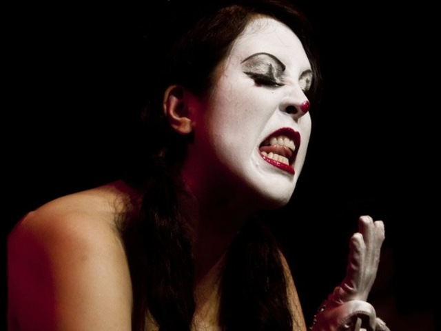 <p>Miss Cherry Delight as The Mine in Good Idea/Bad Idea, Rhinestone Gorilla&#39;s burlesque tribute to &quot;Animaniacs.&quot;</p>