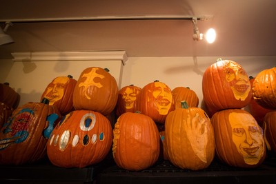 <p>Pumpkin carvers will show off their best jack-o-lanterns at Smorgasburg.</p>
