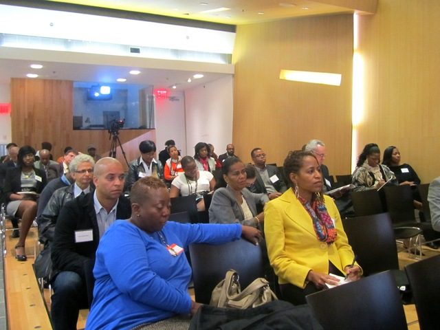 <p>Harlem business owners attended the Harlem Hospitality &amp; Culinary Conference Oct. 10, 2012.</p>
