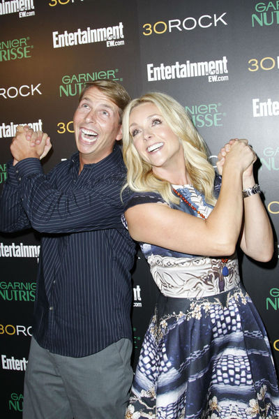 <p>Jack McBrayer and Jane Krakowski at Entertainment Weekly&#39;s party for 30 Rock&#39;s final season at Isola in NoLIta, Wednesday, October 3, 2012.</p>