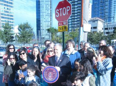 As Long Island City develops, Jimmy Van Bramer says he wants to make sure the streets stay safe.