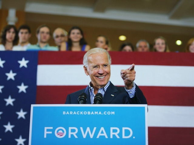 <p>Vice President Joe Biden speaks during a campaign event at the Century Village Clubhouse on Sept. 28, 2012 in Boca Raton, Fla.</p>