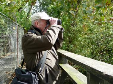 The park is the go-to for bird watchers like John Young, who's been birding there for over 50 years.