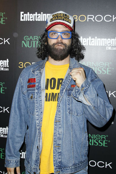 <p>Judah Friedlander at Entertainment Weekly&#39;s party for 30 Rock&#39;s final season at Isola in NoLIta, Wednesday, October 3, 2012.</p>