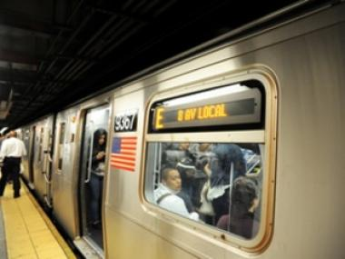 The E train is one of 14 subway lines impacted by service changes this weekend.